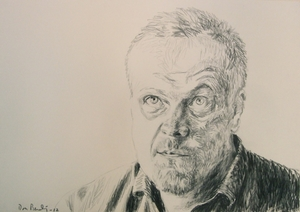 Mr. Brun 35x50cm charcoal on paper 2012